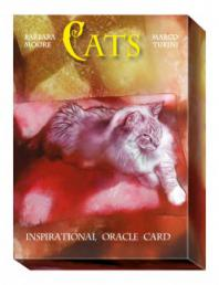 Оракул Кошек. Cats Inspirational Oracle Cards.