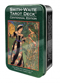 Купить Smith-Waite Centennial Tarot in a Tin в интернет-магазине TaroShop