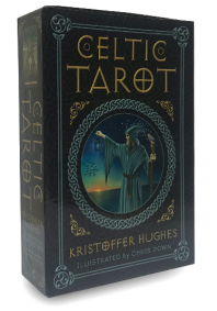 Celtic Tarot Boxed Kit (Kristoffer Hughes). Кельтское Таро. Набор..