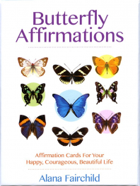 "Карты ""Аффирмации Бабочек"". Butterfly Affirmations Cards."