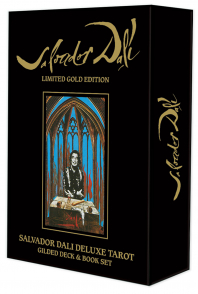 Dali Gold Edition. Salvador Dali Deluxe Tarot Gilded Deck & Book Set.