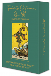 Smith-Waite Gold Edition. Smith-Waite Deluxe Tarot: Gilded Deck & Book Set.